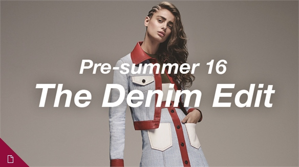 Pre-summer 16: The Denim Edit