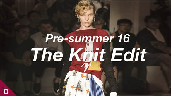 Pre-summer 16: The Knit Edit