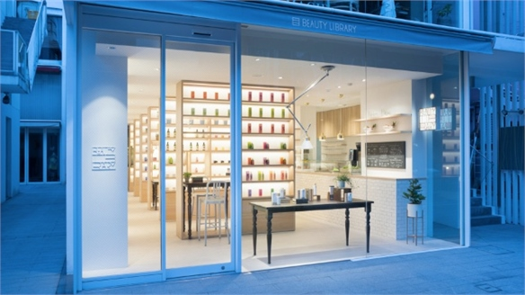 Wellness Retail: Beauty Library, Tokyo