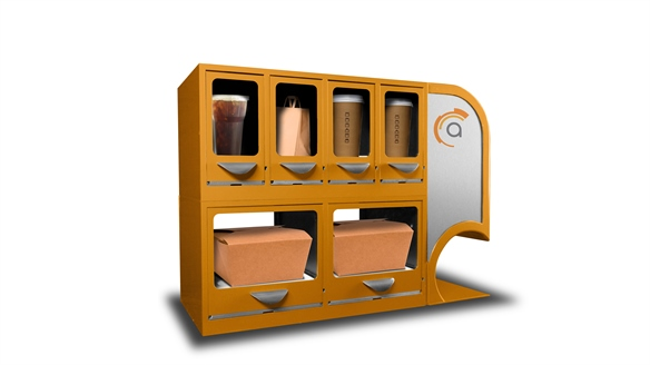 In-Restaurant Food Lockers