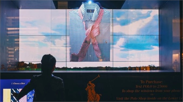 24/7 Retail: Interactive Father's Day Windows, Ralph Lauren