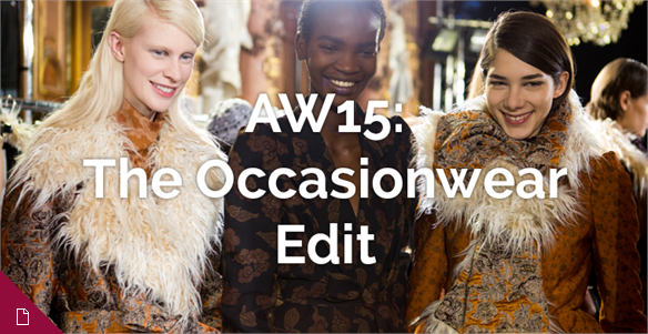 AW15: The Occasionwear Edit