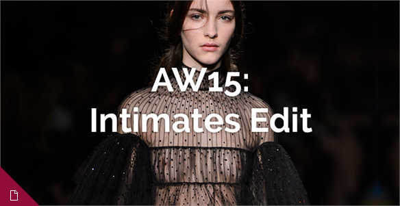 AW15: The Intimates Edit