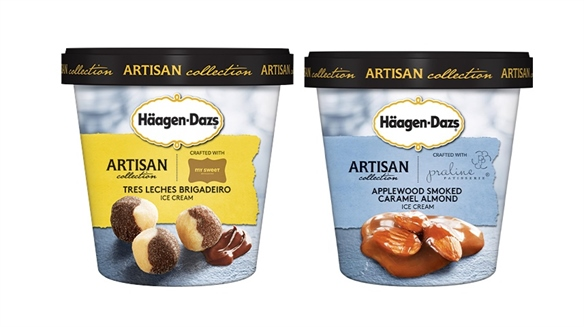 Häagen-Dazs Launches Artisan Ice Cream