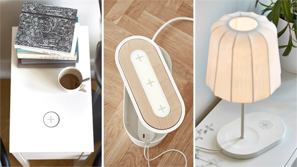 Ikea Launches Wireless Charging Products