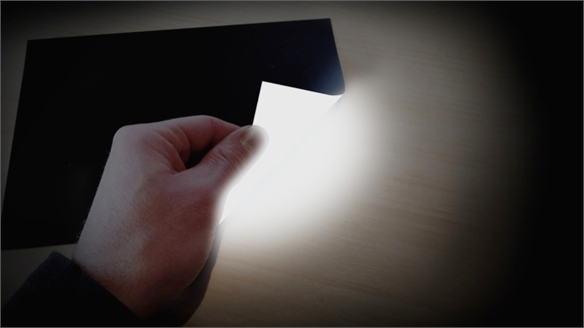 Light-Emitting Paper