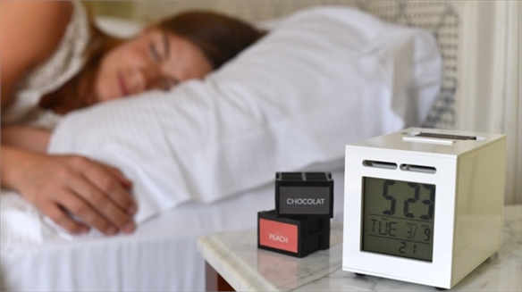 Scent-Based Alarm Clock