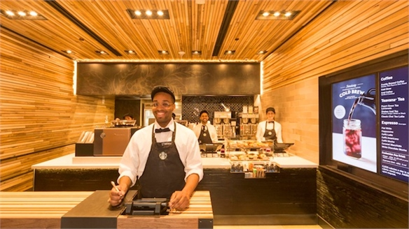 Speedy Retail: Starbucks Express