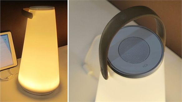 ICFF 2015: Portable Speaker + Light by Pablo Designs