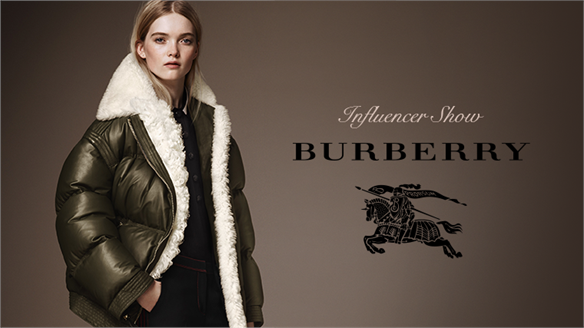 Influencer Show: Burberry Pre-Fall 16