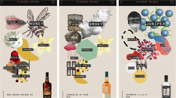 Alcohol App Flaviar 'Visualises' Taste