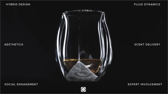 Whisky Glass Design Enhances Flavour