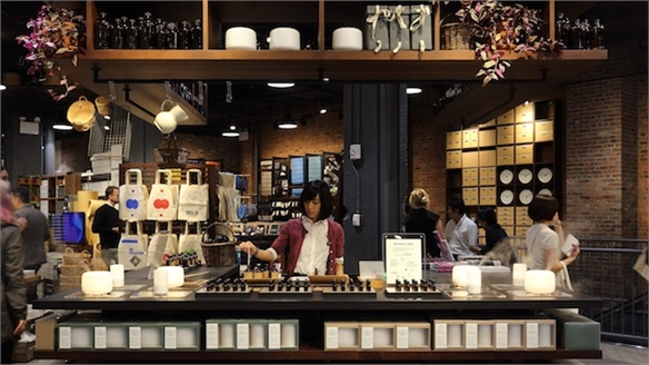 Muji's Customisation-Centric Store
