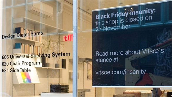 Vitsoe's Anti-Black Friday: Against Obsolescence