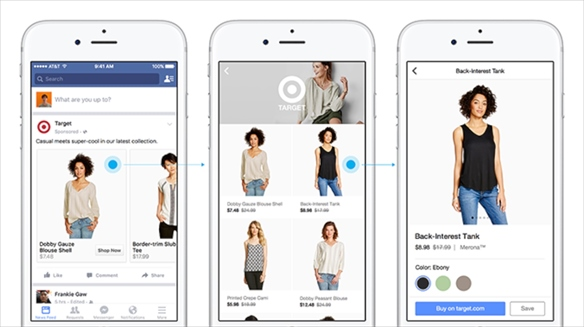 Canvas & Shop: Facebook's M-Commerce Push