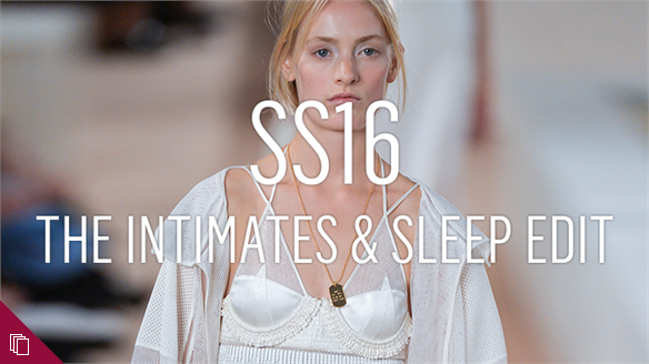 SS16: The Intimates & Sleep Edit