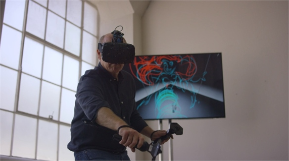 Sculpting VR Story Spaces with HTC