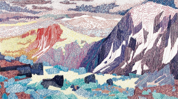Colour Me In: Hand-Drawn Landscapes