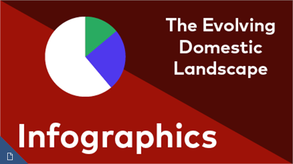 Evolving Domestic Landscape Infographic