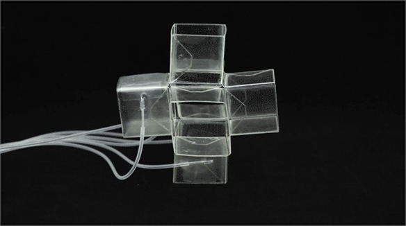 Self-Adapting Foldable Material