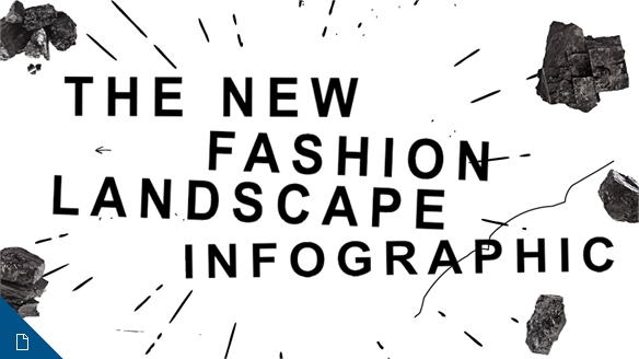 The New Fashion Landscape Infographic