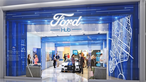 Auto Brands Target Mall Shoppers