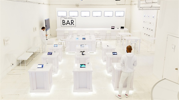 Data Base: The Glass Room, NYC