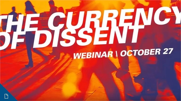 Korean webinar: The Currency of Dissent (한국어 프리젠테이션)