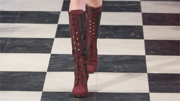 London A/W 16/17 Trend Flash: Lace Up Boots