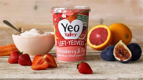 Yeo Valley's Food-Waste Yogurt