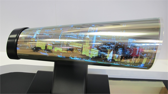 CES 2016: LG Rollable Screen