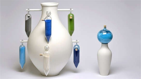 A Matter of Colour: Experimental Ceramics