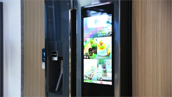 Samsung's Touchscreen Fridge