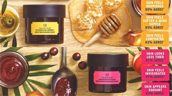 The Body Shop Taps Into Multi-Masking