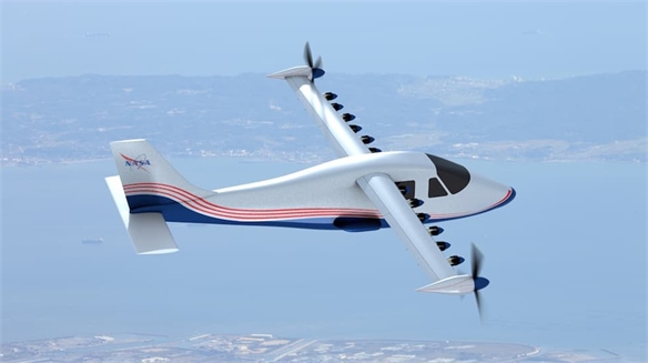 Future of Flight: Nasa's Electric Aeroplane