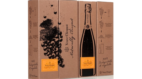 Veuve Clicquot's Grape-Derived Packaging