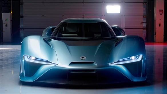 Nio EP9: The Fastest Electric Car in the World