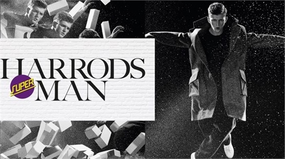Harrods' (Super) Man Lifestyle Pop-Up