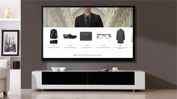 Shop as You Watch Video Content: Mr Porter X Apple TV App