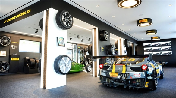 Pirelli 'P Zero World' Flagship