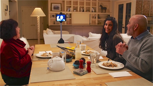 Ohmni Home Robot: Helping Families Stay in Touch
