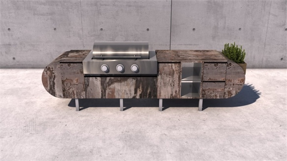 Outdoor Kitchens Go Luxe