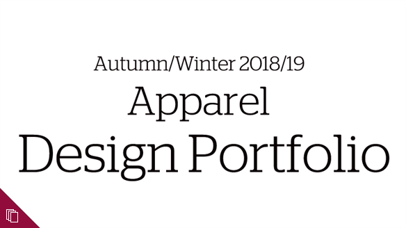 Autumn/Winter 2018/19 Apparel Design Portfolio