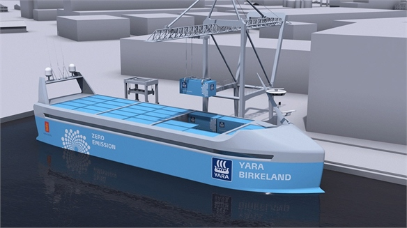 Yara Birkeland: World's First Crewless, Zero-Emission Ship