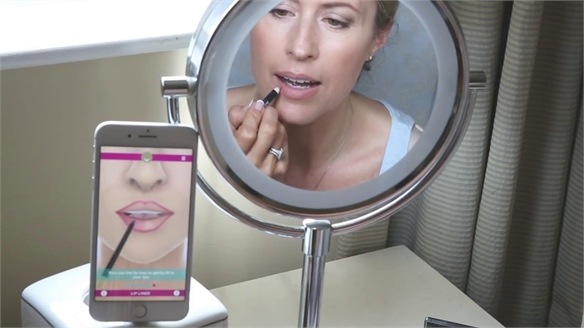 New Virtual Beautician App Delivers Bespoke Tutorials