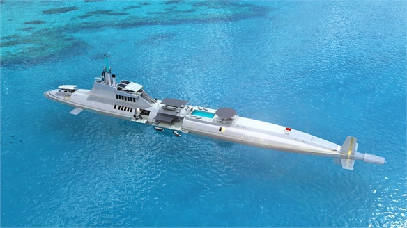 Private Luxury: Submersible Superyachts