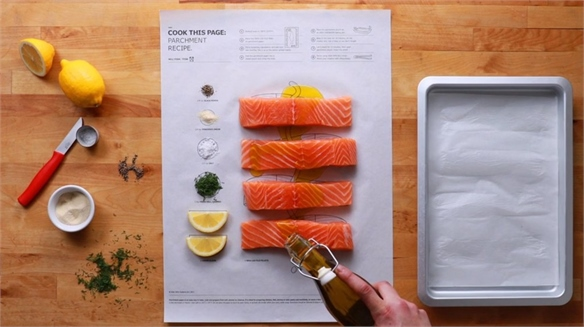 Ikea's Cook This Page Posters
