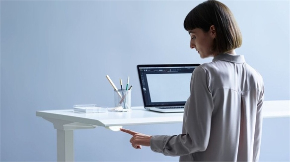 Live OS: Connected Office Furniture for the Future Workspace