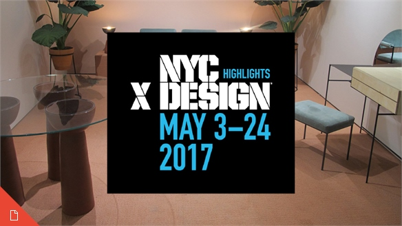 NYCxDesign 2017 Highlights