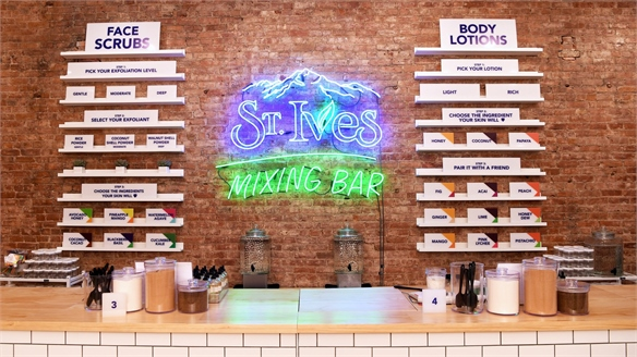 Custom Beauty: St. Ives Mixing Bar